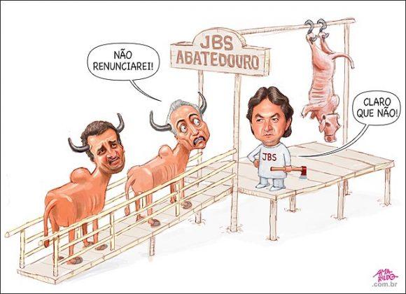 Charge de Amarildo Lima, publicada em 19/05, copiada do site https://www.humorpolitico.com.br/tag/michel-temer/page/2/