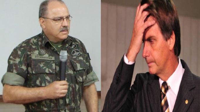 General Sérgio Etchegoyen  e Jair Bolsonaro não são da direita mais perigosa. (Fotos reproduções)