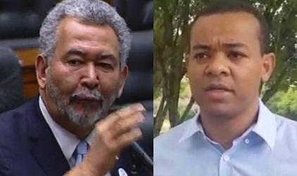 Durante 30 minutos, o deputado Paulão conversou com seu conterrâneo de Alagoas, Almir Santos, que em Foz do Iguaçu defende o interesse dos familiares de Ademir Gonçalves da Costa. Fotos reproduções