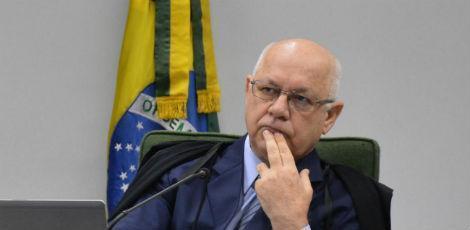 O falecido ministro Zavascki criticou duramente a decisão que Moro na entrevista à Folha defendeu. (Foto: Valter Campanato/Agência Brasil