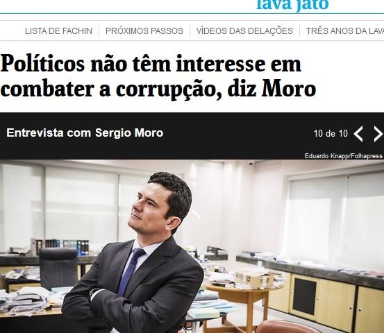 sMoro entrevista à Folha 30.07.17