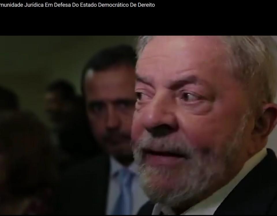 Lula Lava Jato é partido político.