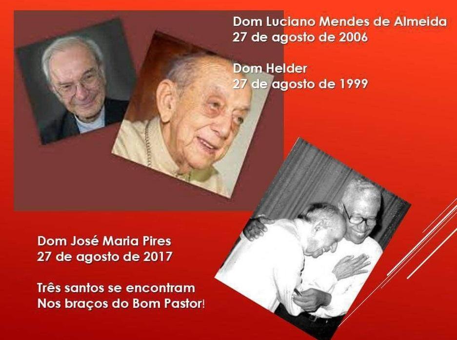 dom Pelé,dom Helder e dom Luciano...