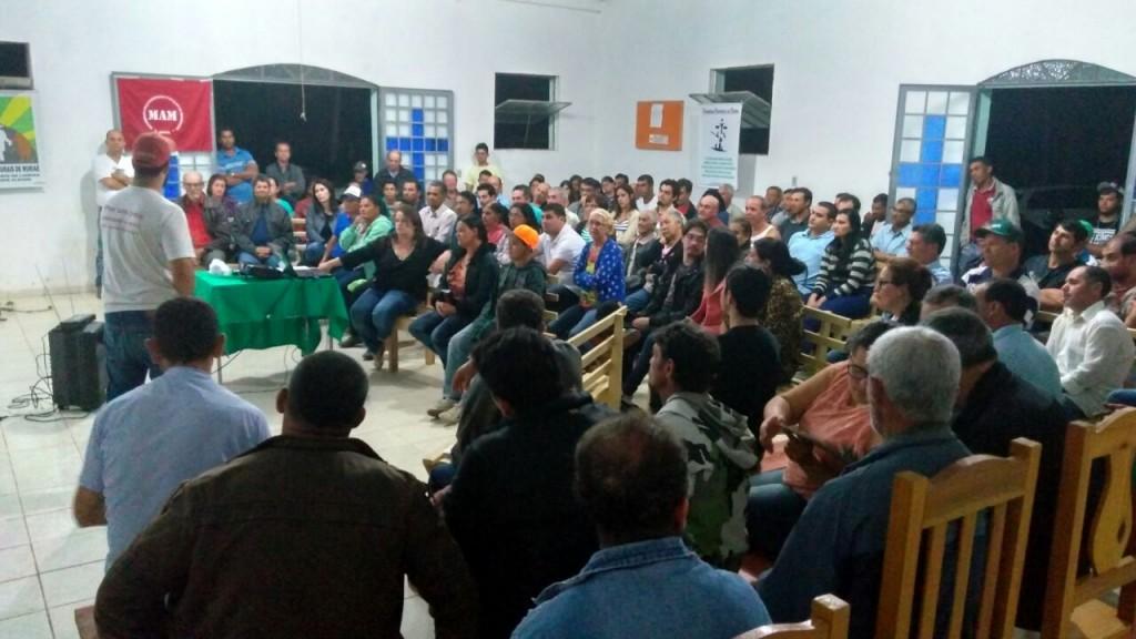 Em Rosário da Limeira (MG) a população e movimentos sociais voltaram a se reunir para fazer frente à ameaça de exploração da bauxita na Serra do Brigadeiro - Foto: Movimento Pela Soberania Popular na Mineração (MAM)