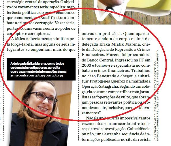 ... inseridas no meio de um total de 605 linhas da matéria da revista  CartaCapítal que tentaram censurar 58f038b751f7f