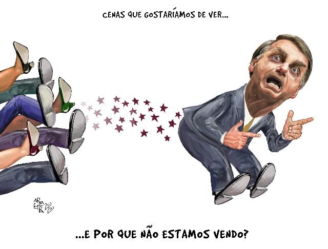 Bolsonaro avança, nosso imobilismo ajuda-o