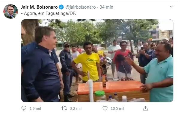 Fala de Bolsonaro pode gerar multa de R$ 100 mil